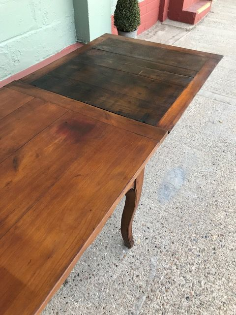 Antique French Farmhouse Table - Over 3m long ext.  - ca124 - DUE IN THIS WEEK (1)
